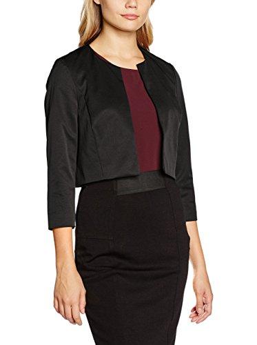 ESPRIT damen Jacke Elegante Bekleidung, schwarz DE 36