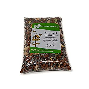 Riverside Woodcraft Premium Squirrel Food 900g