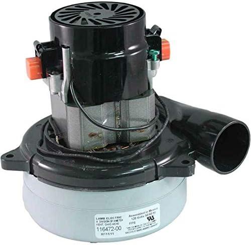 Ametek Lamb Central Max 53% OFF Vacuum Motor Beam Fits Ai 116472-13 67% OFF of fixed price Vacuflo