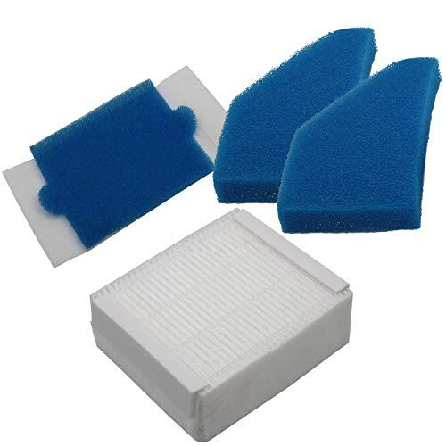 LOVELY Accessoires pour Aspirateur Filtre Set Aspirateurs Convient for Thomas Aqua + Multi Clean X8 Parquet, Aqua + Animaux & Famille, Parfait Air Animal Pur Remplacement