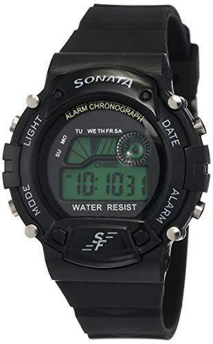 SF Venus Digital Digital Grey Round Dial Men's Casual Watch-NM7982PP03
