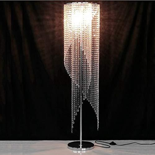 GBYN Lámpara de pie, Lámpara de pie de Cristal, Dormitorio Creativo, Sala de Estar, iluminación, iluminación de Cristal, lámpara de pie de Estilo Europeo