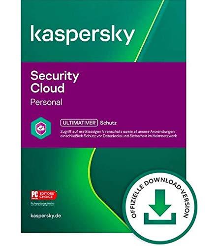 Lizenzschlüssel für Kaspersky Security Cloud   2021   5 Geräte   1 Jahr   Vollversion   PC/Mac/Android   Lizenzcode per Post in frustfreier Verpackung   designed by softwareGO