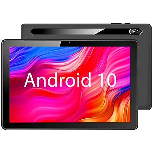 【2021NEWモデル Android 10.0】MARVUE Pad M10 タブレット 10.1インチ RAM2GB/ROM32GB 2.4GHz Wi-Fi対応 4コアCPU 800x1280 IPSディスプレイ デュアルカメラ 日本語仕様書付き(黒)