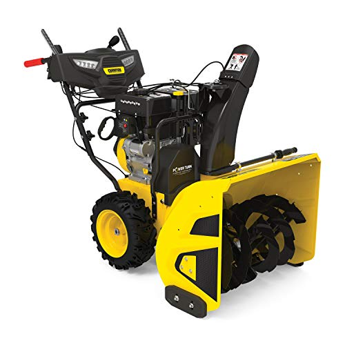 Product Image of the Champion Power Equipment 301cc 27-Inch 2-Stage Gas Snow Blower with Electric Start and LED