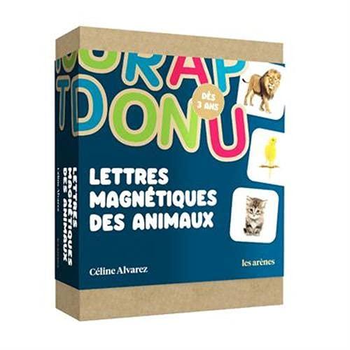 Coffret Lettres magnétiques animaux Céline Alvarez