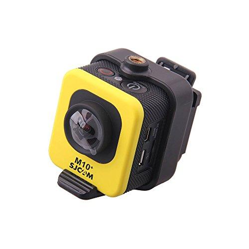 SJCAM M10+ Novatek NTK966602K deportes DV cámara de 1.5pulgadas 12,0MP hasta 30m impermeable IP 68WiFi Deportes cámara de acción, pantalla de 1.5 inches, color amarillo
