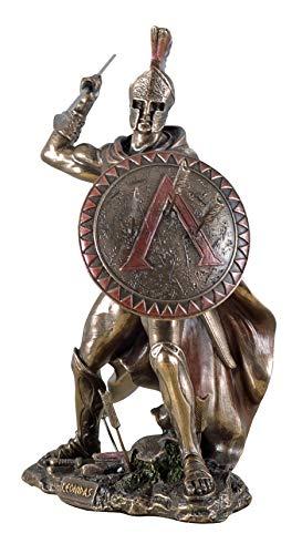 Veronese Figur Leonidas Feldherr Skulptur Perser Spartiaten Xerxes