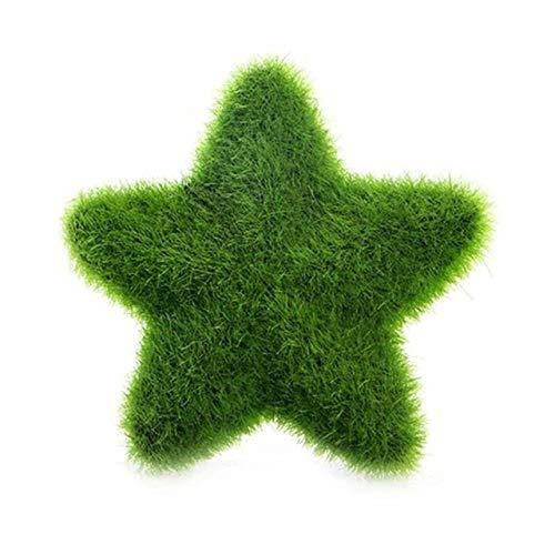 U/D Piante Artificiali Artificiale Verde in Vaso delle Piante di Simulazione Che Si affolla Amore Stella Bonsai falsificazione Fiore Erba Sfera for la casa Decorazioni Ornamenti