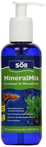 Söll MineralMix Grunddünger für Wasserpflanzen Phosphatfrei, 250 ml
