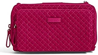 Iconic Deluxe All Together Crossbody in Passion Pink Microfiber