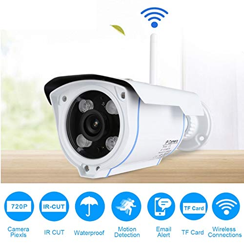 Preisvergleich Produktbild YA HD 720 IP-Kamera drahtlose WiFi-Kamera 2.4 P2P SD-Karte Außenkamera IP-Kamera Nachtversion Kamera