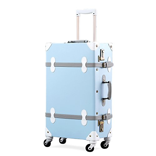 Unitravel Zipperless 26-Inch Spinner Suitcase on Amazon