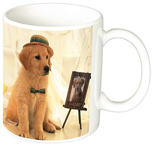 MasTazas Golden Retriever B Tasse Mug