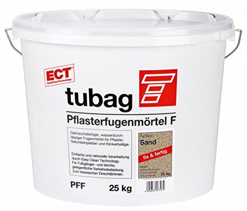 Tubag Pflasterfugenmörtel F PFF 25 kg/ Eimer (sand)