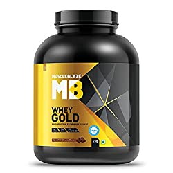 MuscleBlaze Whey Gold 100% Best Whey Protein Isolate