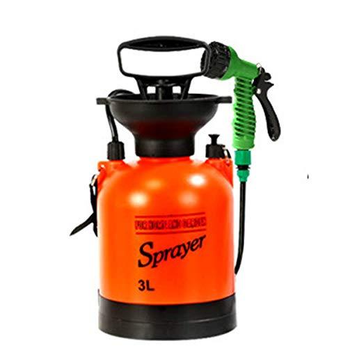Campingdusche Tragbar, 3/5/8L Outdoor Duschtasche, 7 Modi, 360° drehbare Düse, kann für Dusche, Bewässerung, Autowäsche, Haustierdusche verwendet werden (3L)