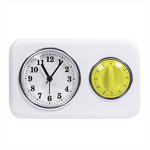 Alarm Clock, op batterijen werkende Count luid alarm Countdown Up Cooking Timer Huis van de Keuken Slaapkamer Nachtlampjes Volwassenen Student Retro Stil Ontwerp