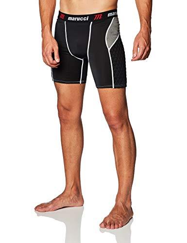 Marucci Adult Elite Padded Slider Shorts, Small, Black