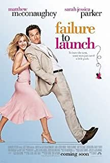 Failure to Launch Original 27 X 40 Theatrical Movie Poster