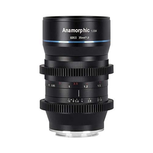 SIRUI Oficial 35mm f1.8 Objetivo Anamórfica 1.33x APS-C, M4/3 Montura