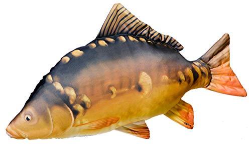 Gaby Unisex Fisch Kopfkissen Groß Karpfen, mehrfarbig, 1