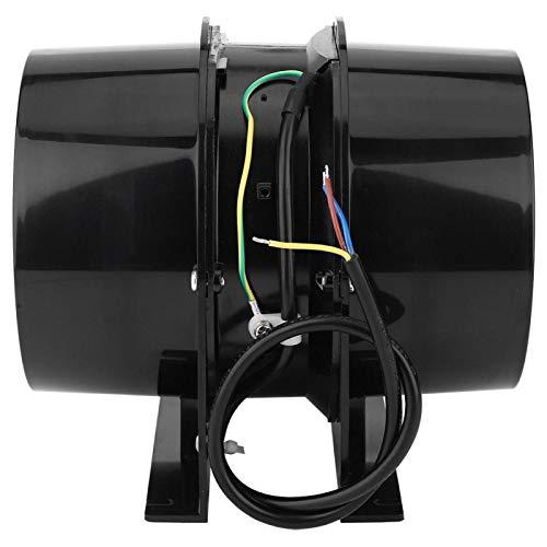 Ventilador de conducto en línea, ventilador de escape, bajo nivel de ruido Fácil de instalar Fácil limpieza y mantenimiento para sótano tipo loft