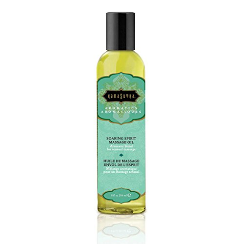Kama Sutra Aromatic Massage Oil Made with Essential Oils for a Sensuous, Full-Body Massage 236 ml (Soaring Spirit)