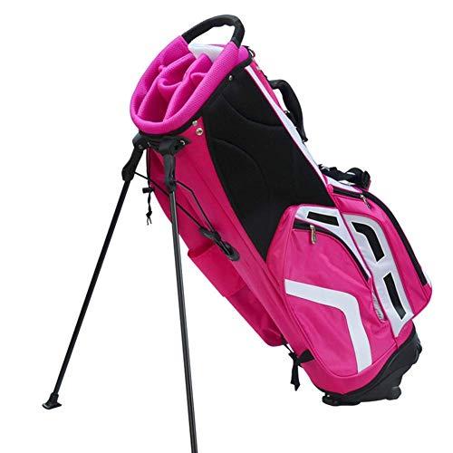 Stand Bag Golf, Golf Stand Bag léger Golf Carry Bag avec 6 Way Diviseur rembourré Sangle WKY