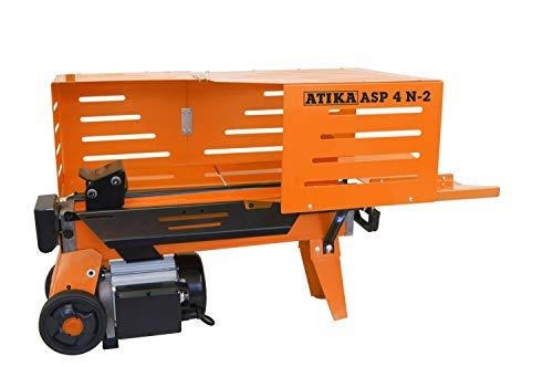 ATIKA 301727 Hydraulikspalter ASP 4 N-2 Kurzholzspalter bis 370 mm | 4 Tonnen Spaltkraft 4t | Brennholzspalter 230 V | Holzspalter liegend 1500 W