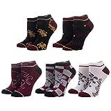 Harry Potter Gryffindor Ankle Socks - 5-Pack