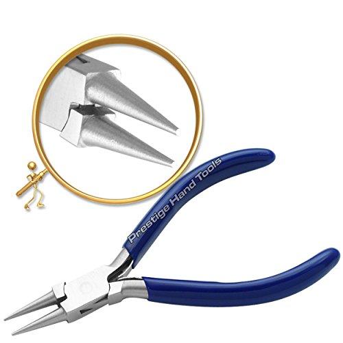 PTL® Prestige - Pinze a becco rotondo per creazione di gioielli, 12,7 cm # 229-4
