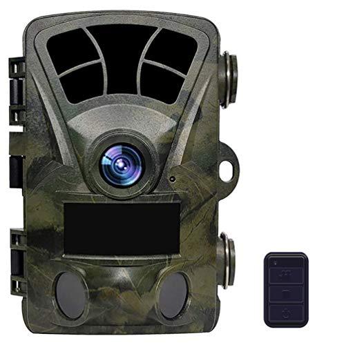 YTLJJ WLAN Wildkamera 16MP 1080P WiFi Jagdkamera Wildtierkamera Fotofalle mit Bewegungsmelder Nachtsicht 120 ° Weitwinkel IP56 Wasserdicht Überwachungskamera mit 2.4' LCD Display