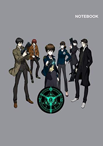 A Beautiful Psycho-Pass notebook: College-Ruled sketchbook for student, 110 Pages, (8.27 x 11.69 inches) A4, Psycho-Pass Movie Notebook Cover.
