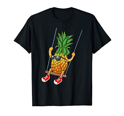 Funny Swinging Pineapple Swinger T-Shirt