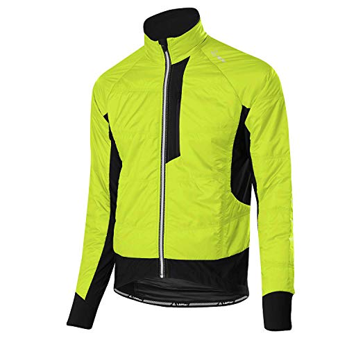 LÖFFLER Iso-Primaloft Mix Bike jas heren lime 2019 waterdicht jack