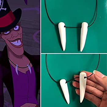 Dr Facilier inspired Necklace Dr Facilier Costume Dr Facilier Cosplay princess and the frog Dr Facilier Villain Costume Disneybound
