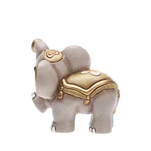THUN - Statuina Presepe Elefante - Decorazioni Natale Casa - Linea Presepe Classico - Ceramica - 7 h cm