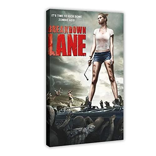 Póster de película Breakdown Lane 1 lienzo para decoración de dormitorio, paisaje, oficina,...