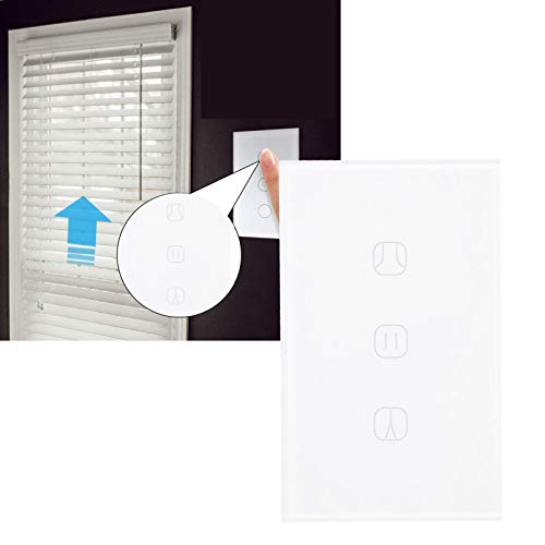 Qinyayoa Interruptor Inteligente WiFi Interruptor de Cortina Inteligente para hogar con Cortina
