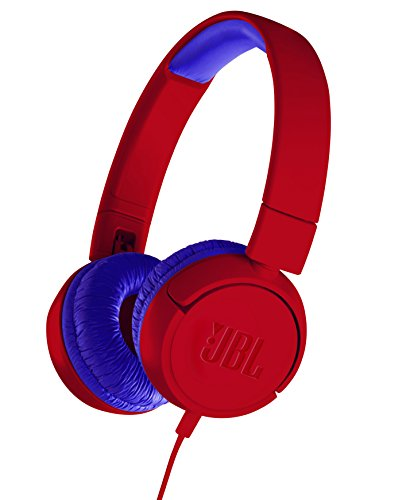 JBL JR300 Children\'s Headphone Volume Control Function Mounted / Customized Seal Comes with red / Blue JBLJR300RED [Genuine Domestic / Studio with 1 Year Warranty]