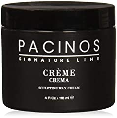 Men's hair grooming sculpting wax cream with a medium hold, provides long lasting definition leaving a medium shine Ideal for all hair types including straight, wavy or curly Adds moisture, volume and fullness to the hair Sculpt many of today's moder...