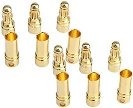 Vktech Gold-plated Bullet Connector (3.5 mm 40pcs)