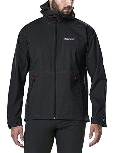 Berghaus Herren Regenjacke Stormcloud Jacket, Schwarz, L, 421191BP6