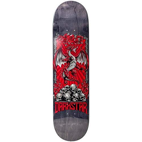 Darkstar Levitate Hybrid Maple Skateboard-Brett / Deck, 20,3 cm, Rot