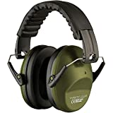 Casques Anti Bruit Tir Protection Auditive Reduction Compact Pliable Confortable Army Green