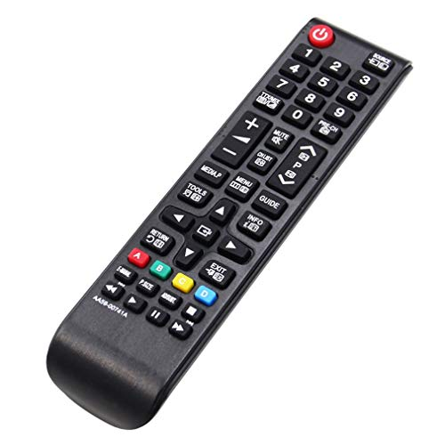 Control Remoto De TV 433Mhz para Todos Samsung Aa59-00741A HDTV Led LCD Smart TV Negro