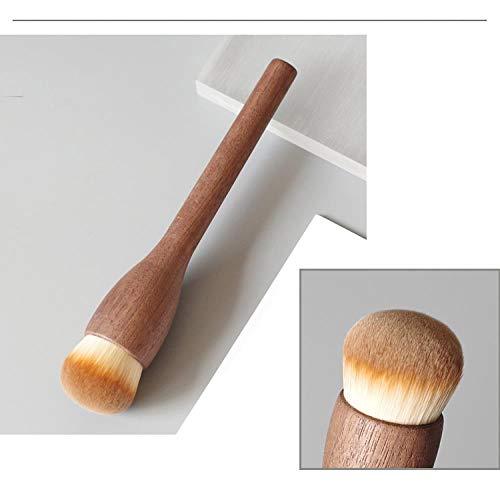 Pinceau En Poudre En Vrac Pinceau Blush Flush Super Soft Hair Trimming Brush Foundation Brush Brush Brush, Flat Round Foundation Foundation Brush