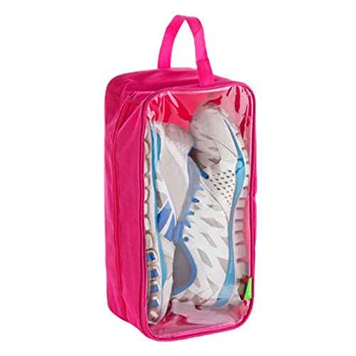 BLANCHO BEDDING Sac de Chaussures de Voyage Pratique Stockage étanche à la poussière étanche 2pcs 4#