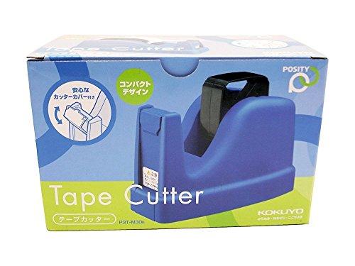 コクヨ コンパクトデザイン テープカッター (青) P3T-M30B